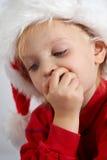 шоколад маленький santa Стоковые Изображения RF