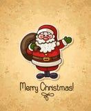 Santa2 stock illustratie