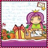Santa 4 listowej serii Obrazy Stock