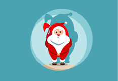 santa stock illustrationer