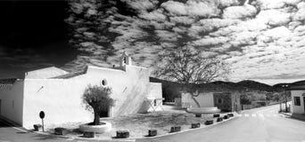 Santa Agnes de Corona i Ibiza arkivfoto