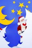 Santa alegre Imagens de Stock