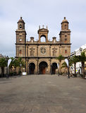 Santa Ana cathedral, Las Palmas, Grand Canary Royalty Free Stock Images
