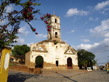 Santa Ana Church au Trinidad Photo stock