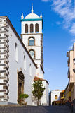 Santa Ana Church, Garachico, Tenerife. Spain royalty free stock images