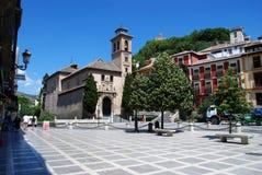 Free Santa Ana Church, Granada. Royalty Free Stock Photos - 68095258