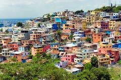 Santa Ana Hill in Ecuador Royalty Free Stock Image