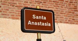 Santa Anastasia Royaltyfri Foto