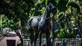 Santa Anita Park Horse Racing image libre de droits