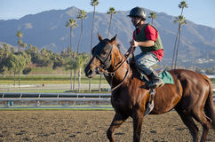 Santa Anita Racetack Stock Photos