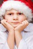 Santa arrabbiata Fotografia Stock Libera da Diritti
