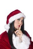 Santa asiatica sexy Fotografia Stock Libera da Diritti