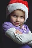 Santa aspettante Fotografie Stock