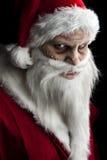 Santa assustador Foto de Stock