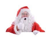 Santa avete stato buono Fotografia Stock