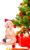 Santa baby Royalty Free Stock Photos