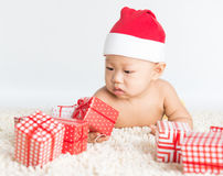 Santa Baby Photographie stock