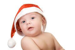 Santa baby boy Stock Images