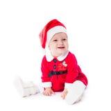 Santa baby girl stock images
