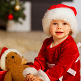 Santa baby Stock Image