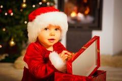 Santa baby Stock Photos