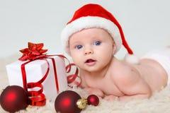 Santa baby Royalty Free Stock Photos