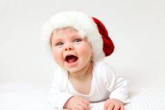 Santa baby Royalty Free Stock Image