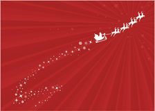 Santa background Royalty Free Stock Images