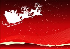 Santa background Royalty Free Stock Photography