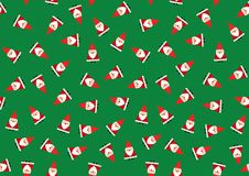 Santa background - cdr format Royalty Free Stock Photography