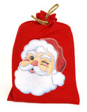 Santa bag Royalty Free Stock Images