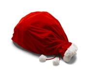 Santa Bag atada Imagen de archivo