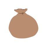 Santa bag isolated. Icon  illustration graphic design Stock Photo