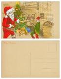 Santa baker Stock Photo