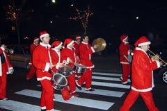 Santa band Stock Image