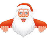 Santa banner Royalty Free Stock Images