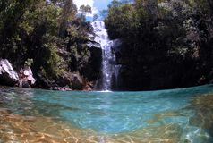 Santa Barabara Waterfall Foto de archivo libre de regalías