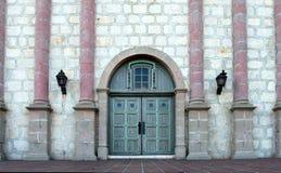 Santa Barbar Mission Entrance Fotografía de archivo