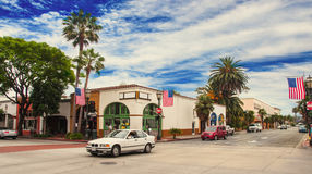 Santa Barbara Καλιφόρνια - αμερικανική φωτογραφία πόλεων στοκ φωτογραφία με δικαίωμα ελεύθερης χρήσης