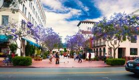 Santa Barbara Καλιφόρνια - αμερικανική φωτογραφία πόλεων στοκ φωτογραφίες