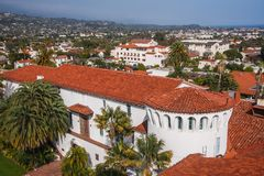 Santa Barbara Royalty Free Stock Photography