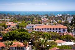 Santa Barbara. Downtown Santa Barbara in California Royalty Free Stock Photo