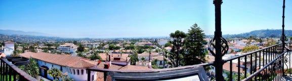 Santa Barbara Aerial Fotografía de archivo libre de regalías