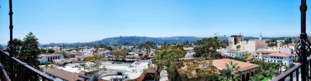 Santa Barbara Aerial Foto de archivo libre de regalías