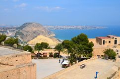 Santa Barbara, Alicante royalty-vrije stock foto