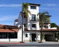Santa Barbara - bâtiment Photos libres de droits