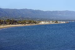 Santa Barbara Bay Stock Image