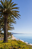 Santa Barbara Beach Stock Photography