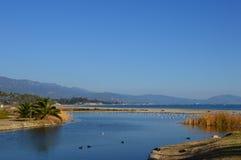 Santa Barbara, CA. Santa Barbara Beach in Santa Barbara, CA Royalty Free Stock Photography