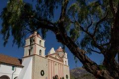 Santa Barbara, CA, usa - misja Obraz Royalty Free